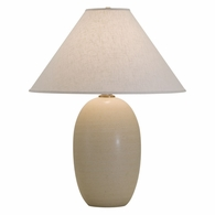 "GS150-OT House of Troy Scatchard 28.5"" Stoneware Table Lamp in Oatmeal"