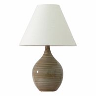 "GS200-TE House of Troy Scatchard 19"" Stoneware Accent Lamp in Tigers Eye"