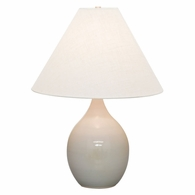 "GS300-GG House of Troy Scatchard 22.5"" Stoneware Table Lamp in Gray Gloss"