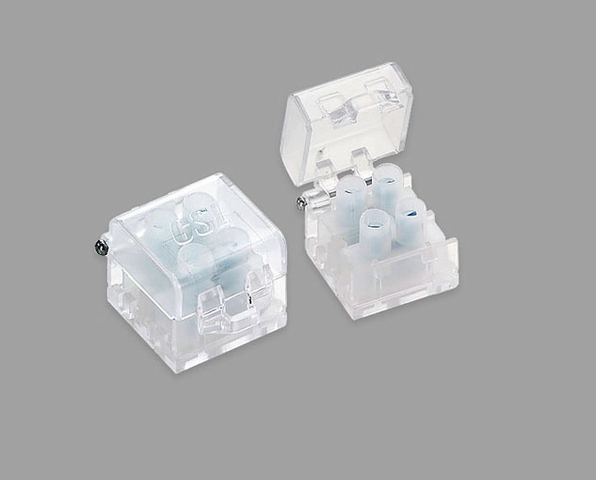 INVPW1-10 CSL Lighting 30 Amp Clear Terminal Block with Hinged Cover