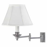 LL660-SN House of Troy Decorative Wall Swing Lamp Satin Nickel