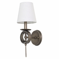 LS202-AB House of Troy Lake Shore Wall Sconce Antique Brass