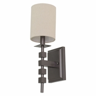 LS204-MB House of Troy Lake Shore Wall Sconce Mahogany Bronze