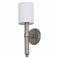 LS207-SP House of Troy Lake Shore Wall Sconce Satin Pewter