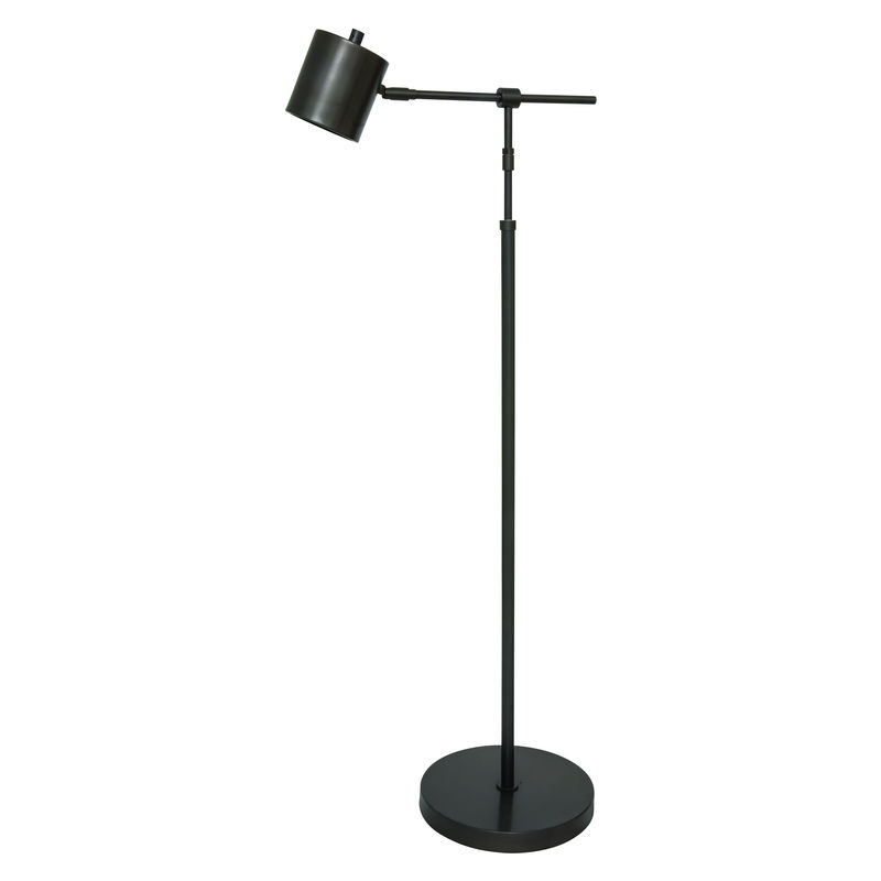MO200-OB House of Troy Morris Adjustable LED Floor Lamp in Oil Rubbed Bronze