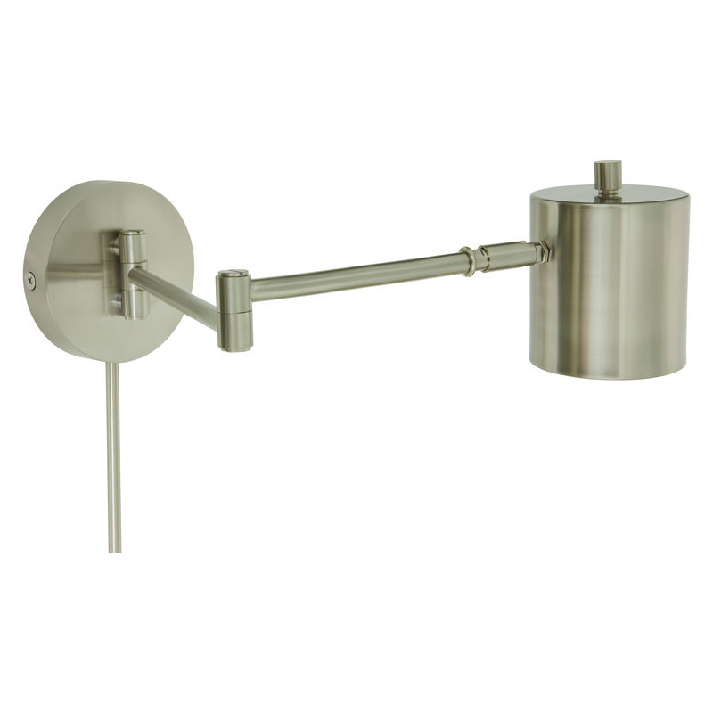 MO275-SN House of Troy Morris Adjustable LED Wall Lamp in Satin Nickel