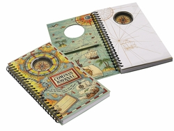 MS010A Authentic Models Compass Journal