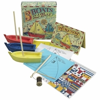 MS015A Authentic Models Three Boats in a Box Kit