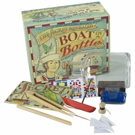 MS022A Authentic Models Boat in a Bottle Kit