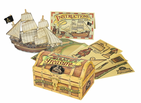 MS057A Authentic Models Pirates Treasure