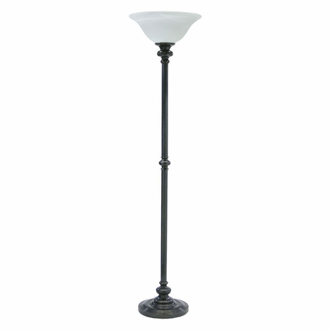 "N600-OB-O House of Troy Newport 68.75"" Floor Lamp Oil Rubbed Bronze"