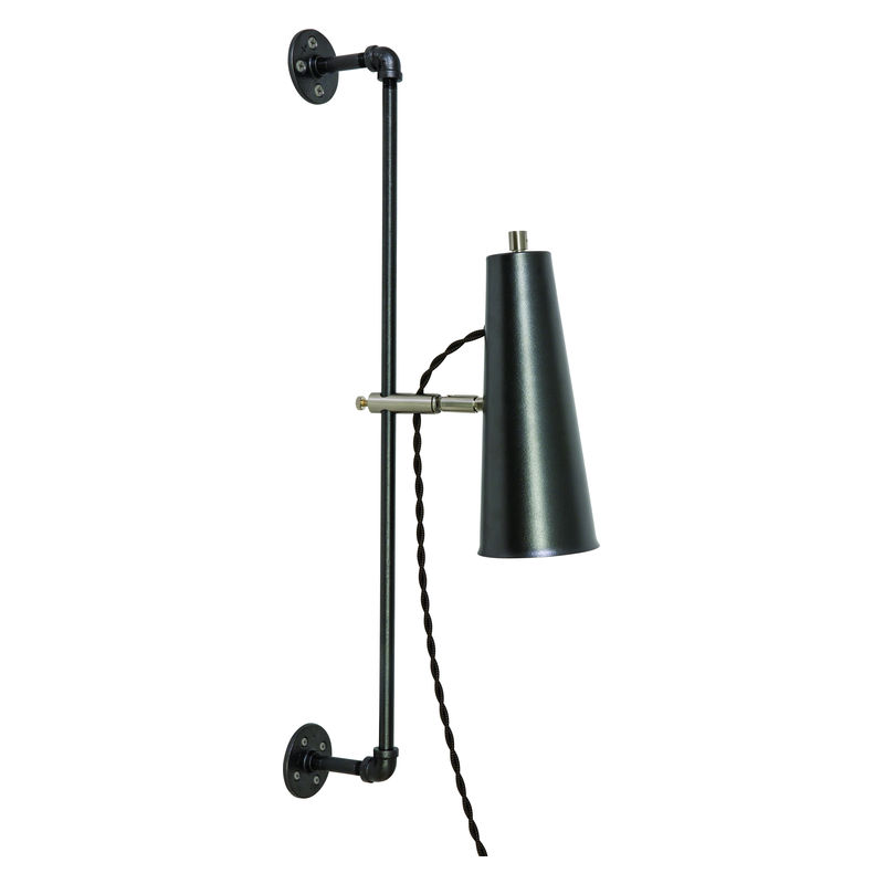 NOR375-GTSN House of Troy Norton Adjustable LED Wall Lamp in Granite with Satin Nickel Accents