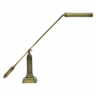 P10-191-71 House of Troy Counter Balance Antique Brass Piano/Desk Lamp