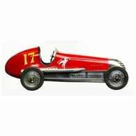 PC013R Authentic Models BB Korn Model Car, Red