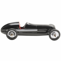 PC014B Authentic Models Silberpfeil Black Model Car, Red Seat
