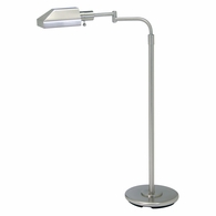 PH100-52-J House of Troy Home/Office Satin Nickel Floor Lamp