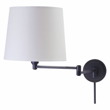 TH725-OB House of Troy Townhouse Wall Swing Arm Lamp in Oil Rubbed Bronze