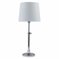 TH750-PN House of Troy Townhouse Adjustable Table Lamp in Polished Nickel