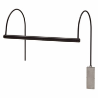 "USLEDZ15-91 House of Troy Ultra Slim-Line 15"" LED Oil Rubbed Bronze Picture Light"