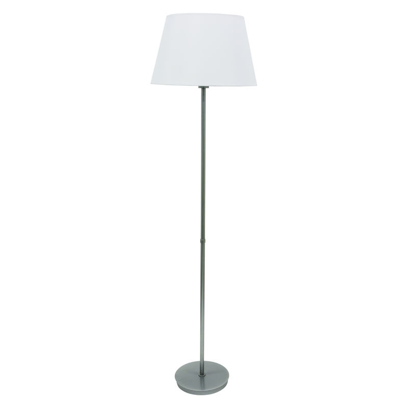 VER500-PG House of Troy Vernon 3-bulb Floor Lamp in Platinum Gray
