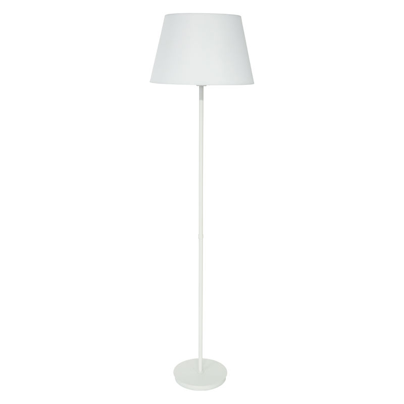 VER500-WT House of Troy Vernon 3-bulb Floor Lamp in White