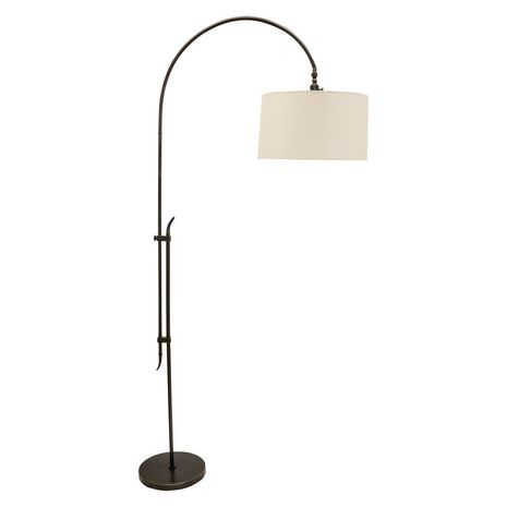 "W401-OB House of Troy 84"" Windsor Adjustable Floor Lamp in Oil Rubbed Bronze"