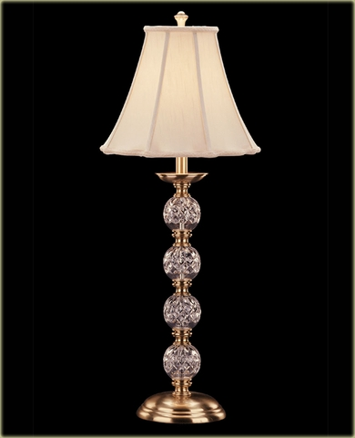 Waterford Crystal Buffet Lamps