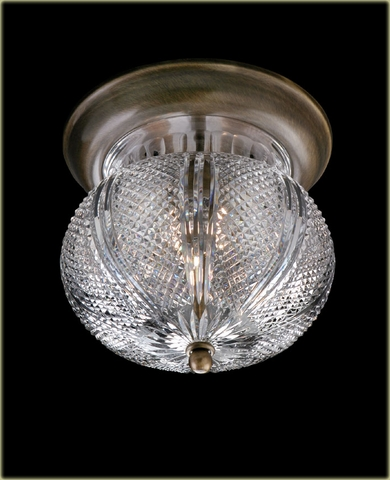 Waterford Crystal Ceiling Mount Lighting Fixtures