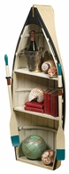 WO102 Authentic Models Dory Bookshelf/Table with Glass