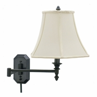 WS-708-OB House of Troy Wall Swing Arm Lamp in Oil Rubbed Bronze
