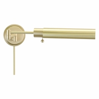 WS12-51-F House of Troy Home/Office Wall Swing Arm Satin Brass