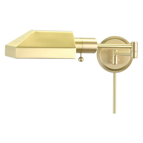 WS12-51-J House of Troy Home/Office Wall Swing Arm Satin Brass