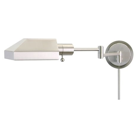 WS12-52-J House of Troy Home/Office Wall Swing Arm Satin Nickel