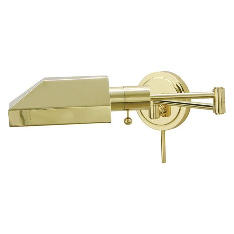 WS12-61-J House of Troy Home/Office Wall Swing Arm Polished Brass