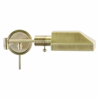 WS12-71-J House of Troy Home/Office Wall Swing Arm Antique Brass