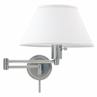 WS14-52 House of Troy Home/Office Wall Swing Arm Satin Nickel