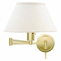 WS14-61 House of Troy Home/Office Wall Swing Arm Polished Brass