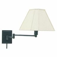 WS16-91 House of Troy Wall Swing Arm Lamp in Oil Rubbed Bronze