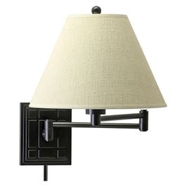 WS750-OB House of Troy Wall Swing Arm Lamp in Oil Rubbed Bronze