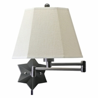 WS751-OB House of Troy Wall Swing Arm Lamp in Oil Rubbed Bronze