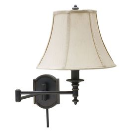 WS761-OB House of Troy Wall Swing Arm Lamp in Oil Rubbed Bronze