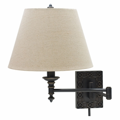 WS763-OB House of Troy Wall Swing Arm Lamp in Oil Rubbed Bronze