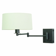 WS776-OB House of Troy Wall Swing Arm Lamp in Oil Rubbed Bronze with Full Range Dimmer