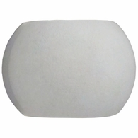 WSL501-140-30 ELK Lighting Castle 5-Light Sconce in Natural Concrete with Sphere-shaped Concrete Shade - Integrated LED