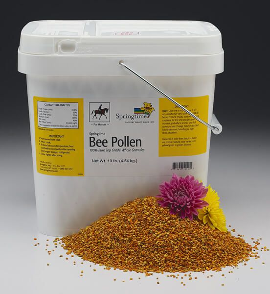 Bee Pollen 10lb for horses.|All Veterinary Supply