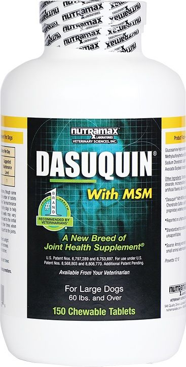 Dasuquin® Chew Tabs for Lg  Dogs w/MSM 150ct