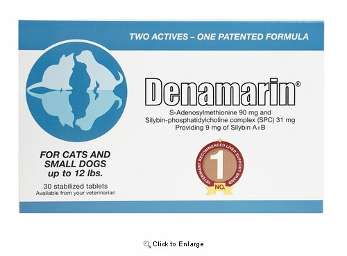 Denamarin® for Small Dogs & Cats, 90mg Tabs 30ct