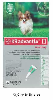 Lowest Price On Canine Advantix Ii For Dogs Under 10 Pounds