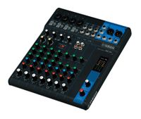 10-Channel Mixing Console: Max. 4 Mic / 10 Line Inputs (4 mono + 3 stereo) / 1 Stereo Bus / 1 AUX (incl. FX) – MG10