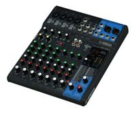 10-Channel Mixing Console: Max. 4 Mic / 10 Line Inputs (4 mono + 3 stereo) / 1 Stereo Bus / 1 AUX (incl. FX) – MG10XU